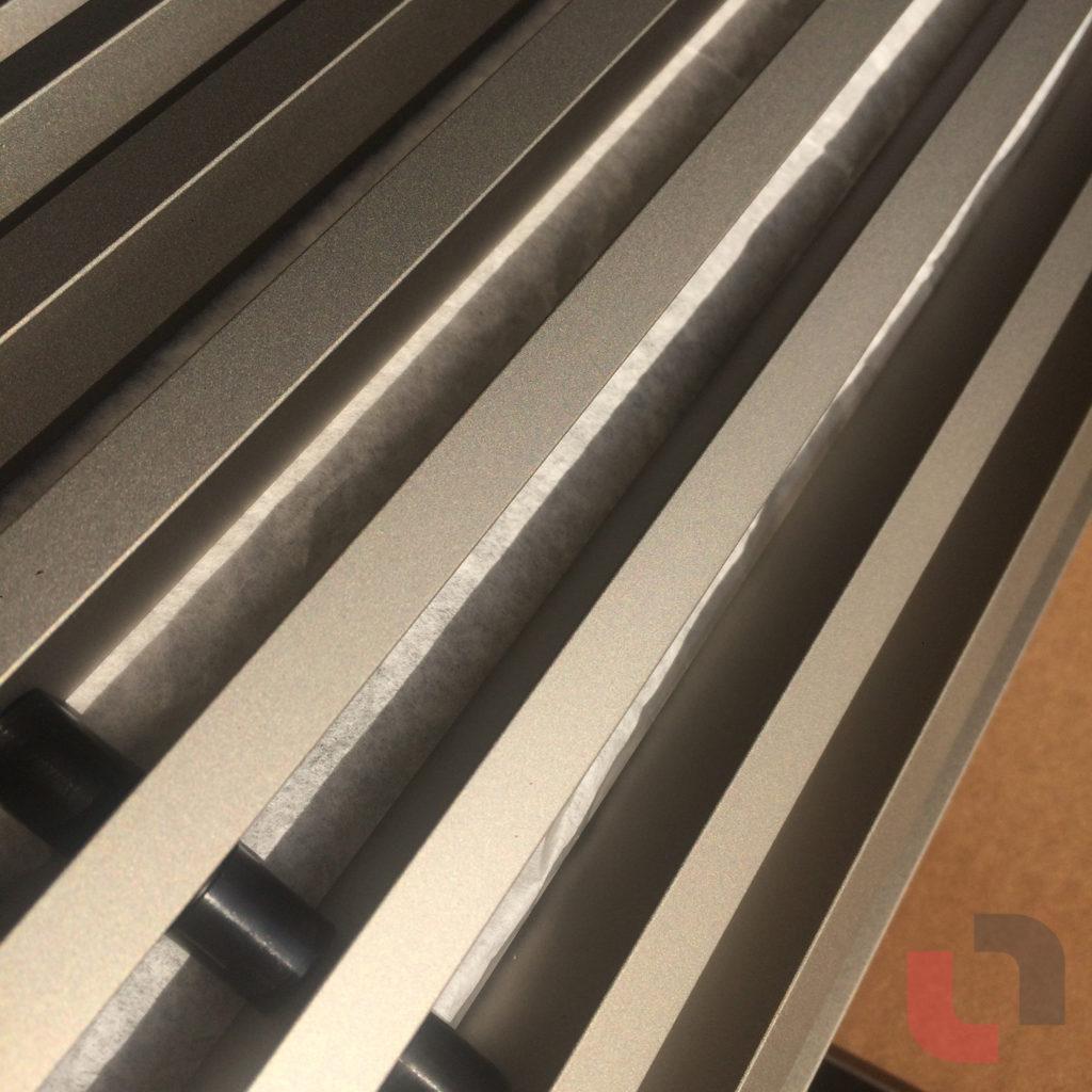 Śrutowanie aluminium